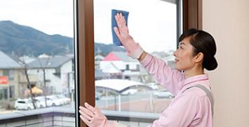ガラス・サッシ・網戸クリーニング/張替