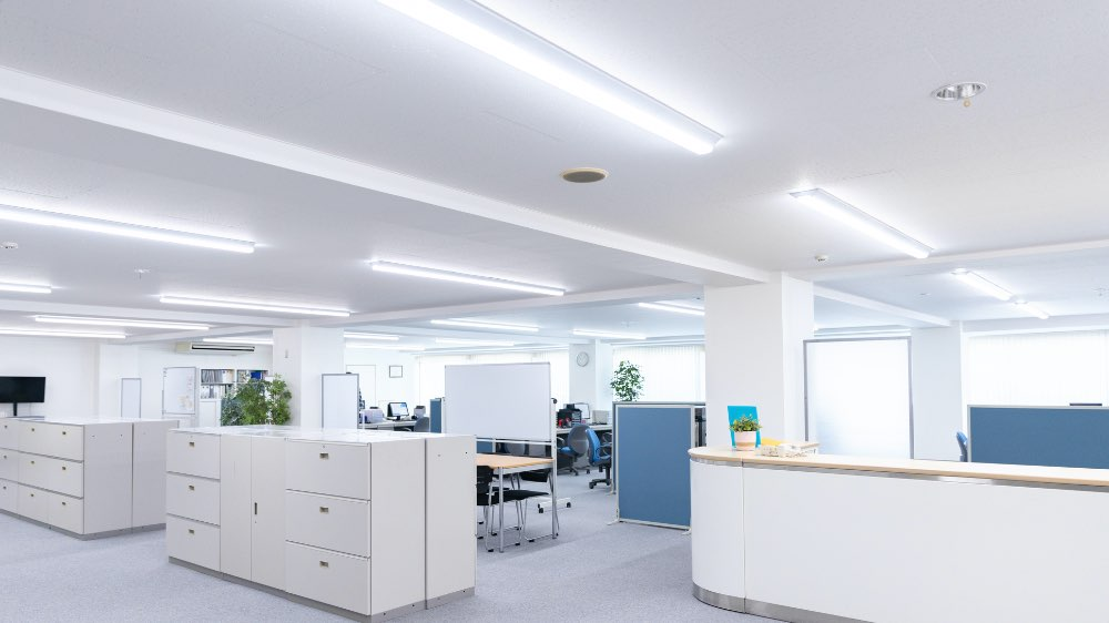 明るい空間ほど作業効率や売上もアップ
